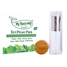 Double Wall Bottle + Eco Picnic Pack